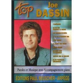 DASSIN JOE : TOP (chant+piano+accords guitare)