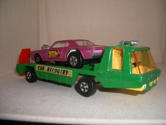 Matchbox Transporteur Mercury Cougar Dragster