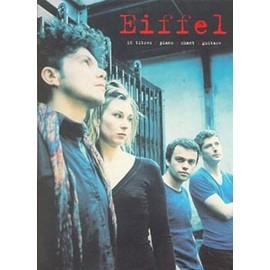 EIFFEL 16 titres (piano/chant/guitare)