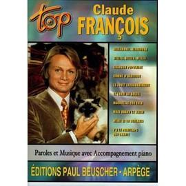 FRANCOIS CLAUDE : TOP (PIANO/CHANT/ACCORDS)