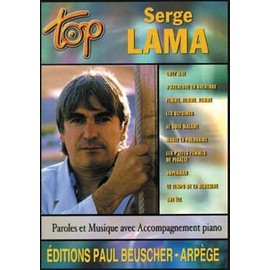 LAMA SERGE : TOP (chant+piano+accords guitare)