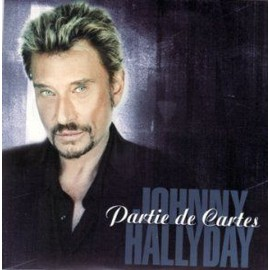 Johnny Hallyday partie de cartes