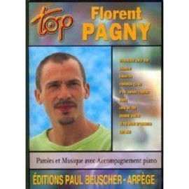 PAGNY FLORENT : TOP (chant+piano+accords)