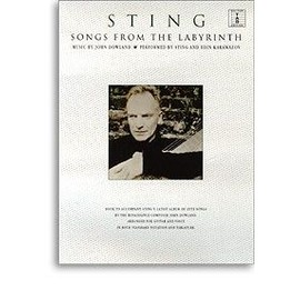 sting : songs from the labyrinth ( chant + guitare solfège et tablatures )