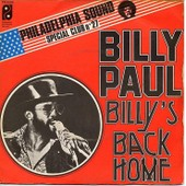 Billy's Back Home - Billy Paul