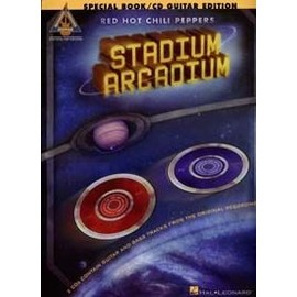 RED HOT CHILI PEPPERS STADIUM ARCADIUM (special book/2cd guitar  edition/chant guitar tab et accords)