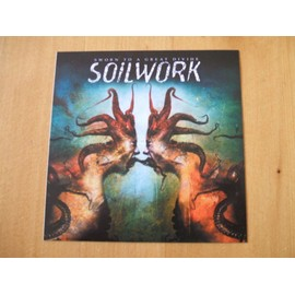 SOILWORK sworn to a great divide (promo sticker)