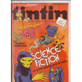 Tintin 33� Annee N� 165 : Science Fiction