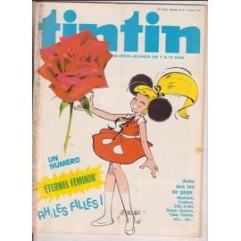 Tintin 33� Annee N� 157 : Eternel Feminin Ah Les Filles