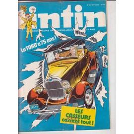 Tintin N 24/33� Annee N� 144 : La Ford A 75 Ans