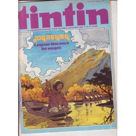 Tintin N 27/ 33� Annee N� 147 : Jonathan L Espace Bleu Entre Les Nuages