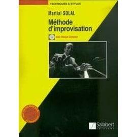 solal martial : méthode d'improvisation + 1 cd