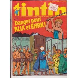 Tintin N� 189 : Danger Pouralix Et Enak