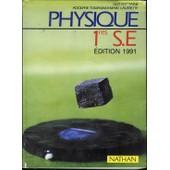 Physique 1res S. E. - Programme 1988 de Alain-Bernard Fontaine