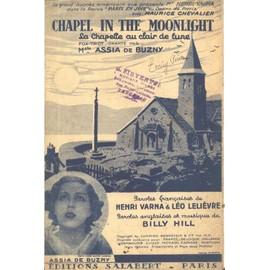 La chapelle au clair de lune (Chapel in the moonlight)