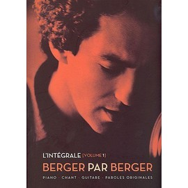BERGER MICHEL L'INTEGRALE VOL 1 (chant/piano/accords)