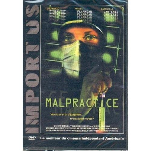 Malpractice   Dvd   Edition simple