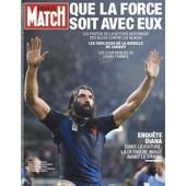 Paris Match Du 11 Octobre 2007 N� 3047 : Les Bleus Rugby (12p) Lady Diana (6p) Manu Katche (1p) Yves Simon (1p) Mireille Darc (1p) Kate Winslet (4p) Mika (2p)