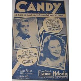 CANDY 1944 Paroles anglaises et françaises