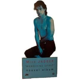 Mick jagger - wandering Spirit - PLV silhouette