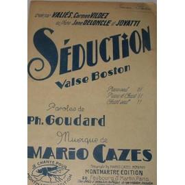 Séduction (Valse Boston 1929)