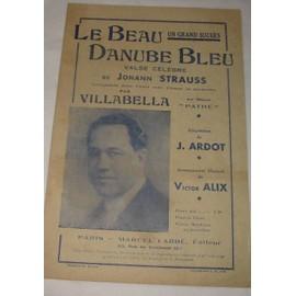 Le beau Danube bleu (Valse) 1944