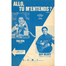 DALIDA  ALLO TU M'ENTENDS