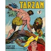 Tarzan Tout En Couleurs - Tome 5 de edgar rice burroughs
