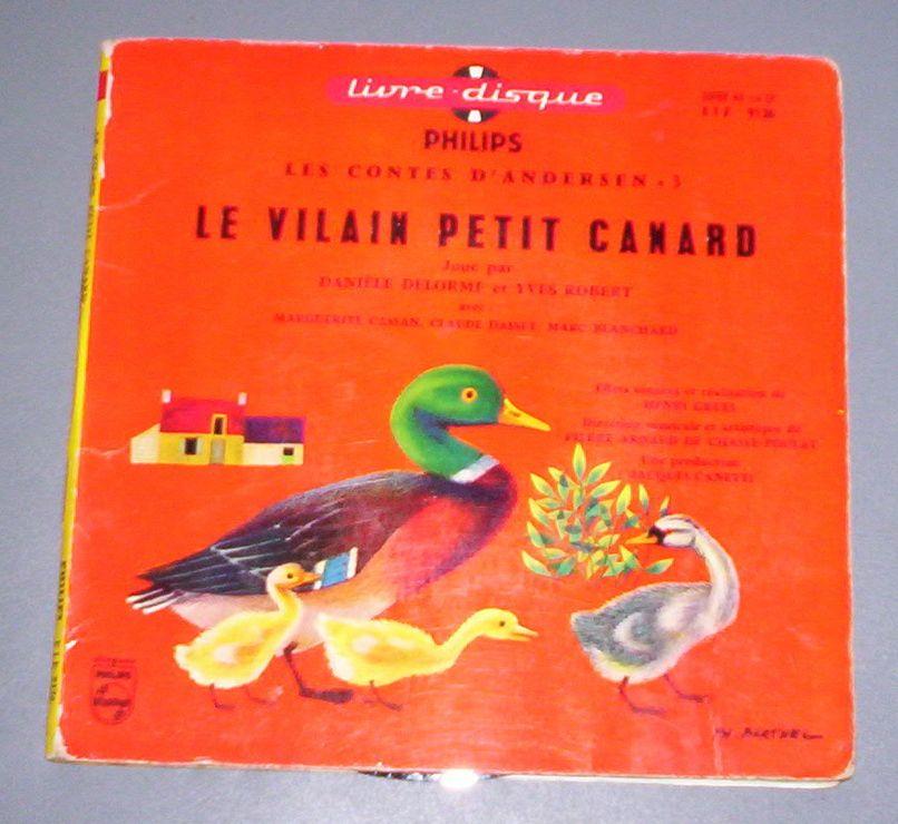 Le Vilain Petit Canard - Andersen - Jou� Par Dani�le Delorme Et Yves Robert