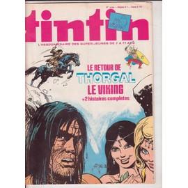 Tintin Hebdomadaire N� 173 : Le Retour De Thorgal Le Viking