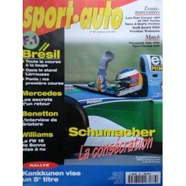 Sport Auto N� 387 : Schumacher : La Cons�cration. > Kankkunen Vise Un 5�me Titre.