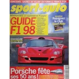Sport-Auto N� 434 : Guide F1 98