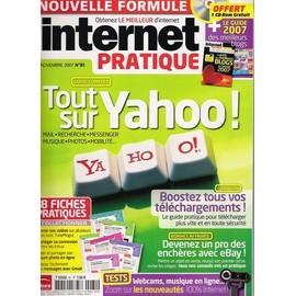 Internet Pratique N� 81 : Tout Sur Yahoo