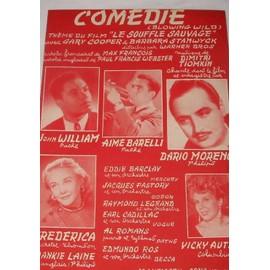 Comédie (Blowing wild) thème du film Le souffle sauvage 1953