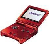 Game Boy Advance Sp Rouge Flamme