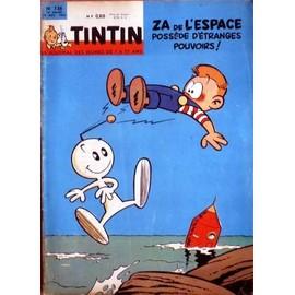 Tintin (Le Journal Des Jeunes De 7 � 77 Ans) : Correspondance De L'album Reli� N� 56 (N� 736-755)