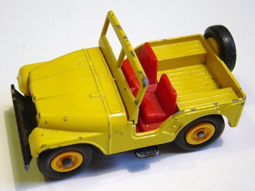 Matchbox Jeep Séries N°72