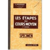 Les �tapes Du Cours Moyen Cm1 Manuel De Calcul de Morgenthaler H