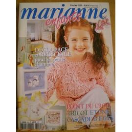 Marianne Enfants N� 16 : D�coupage Et Recyclage Pour Sa Petite Chambre