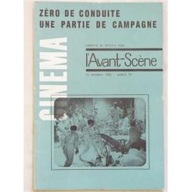 L'avant-Sc�ne Cin�ma N� 21 : Z�ro De Conduite Par Jean Vigo - Suivi De Une Partie De Campagne Par Jean Renoir