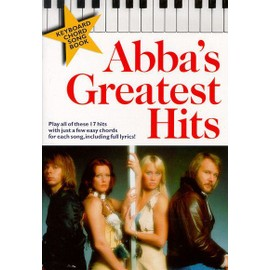 Abba's Greatest Hits Keyboard Chord Songbook Clavier