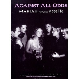 Against All Odds (Mariah Carey/Westlife) Piano, Vocal & Guitar (with Chord Boxes)