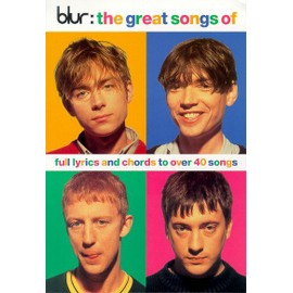 The Great Songs of Blur Chord Songbook Voix et accords