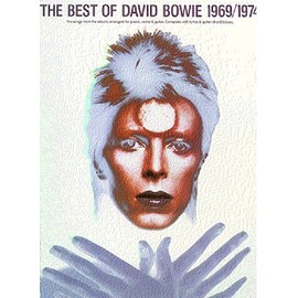 The Best Of David Bowie 1969/1974 Piano,  Vocal & Guitar (with Chord Boxes)