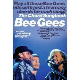 Bee Gees Chord Songbook Clavier