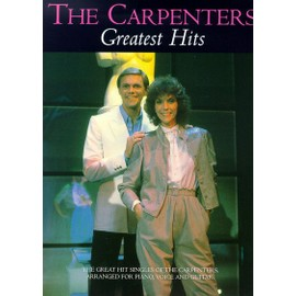 The Carpenters Greatest Hits Piano, Vocal & Guitar (with Chord Boxes)