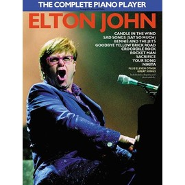 The Complete Piano Player Elton John Piano,  Vocal & Guitar (with Chord Boxes)