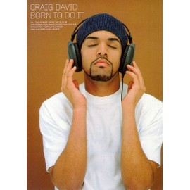 Craig David: Born To Do It Piano,  Vocal & Guitar (with Chord Boxes)