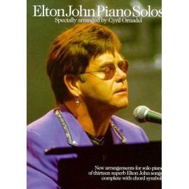 Elton John : Piano Solos Piano solo and Guitar (Chords)
