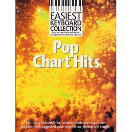 Easiest Keyboard Collection: Pop Chart Hits Clavier